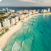Cancun Airport Transportation to Cancun Hotel Zone1